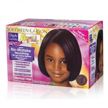 Kit Défrisant sans Soude Cheveux Normaux ENFANTS