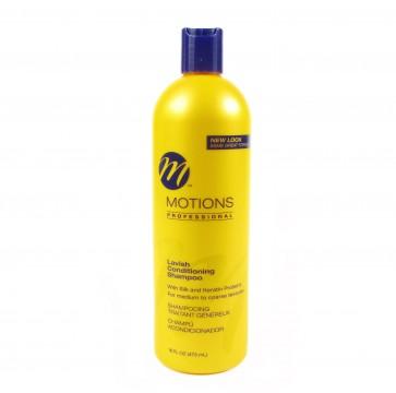 Shampooing Traitant aux Protéines de Soie et de Kératine Cheveux Moyens à Epais 473ml
