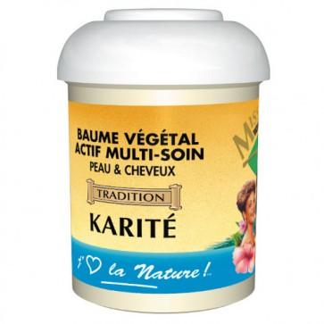 Baume Multi-Soin Peau et Cheveux au Karité 125ml
