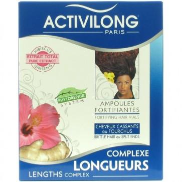 Soin Cheveux Cassants à l'Hibiscus & au Ginseng 4x10ml