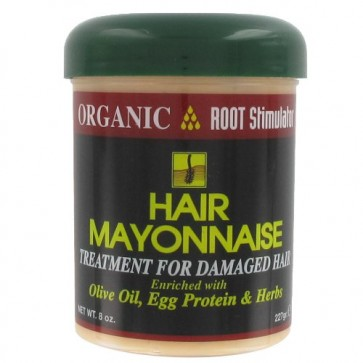 Traitement Cheveux Abîmés à l'Huile d'Olive Protéines d'Oeufs et Essences Botaniques 227g