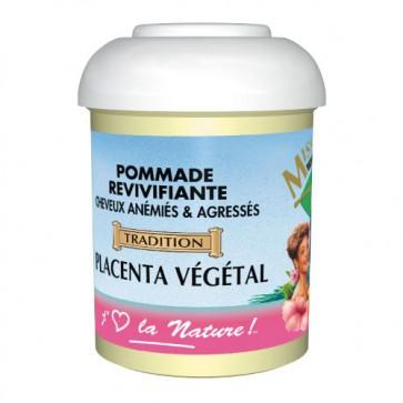 Pommade Revivifiante au Placenta Végétal Cheveux Anémiés & Agressés 125ml