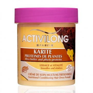 Crème de Soin Multi-Nutritionnelle au Karité et Protéines de Plantes 200ml