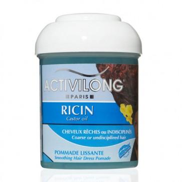 Pommade Lissante Cheveux Rèches ou Indisciplinés au Ricin 125ml