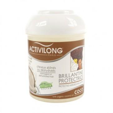 Brillantine Protectrice Cheveux Abîmés ou Déshydratés à la Coco 125ml