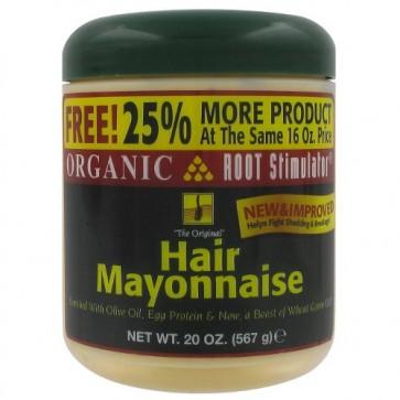 Traitement Cheveux Abîmés à l'Huile d'Olive Protéines d'Oeufs et Essences Botaniques 454g