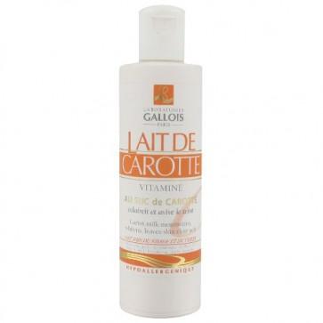 Lait de Carotte Vitaminé Visage et Corps au Suc de Carotte 250ml