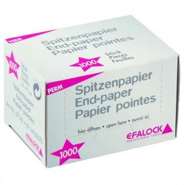 Papier Pointes 50x77mm pour Permanente x1000 Feuilles