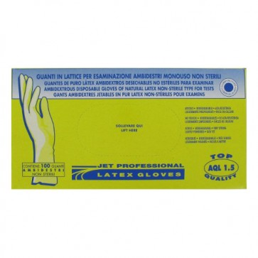 Gants Jetables 100% Latex Taille M x100