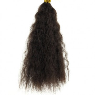 Tissage Afro French Bulk 16 3 Cheveux Humains