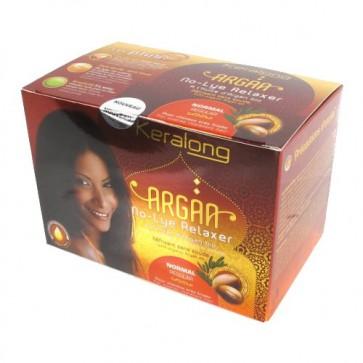 Kit Défrisant Normal sans Soude à l'Huile d'Argan Bio pour Cheveux très Frisés