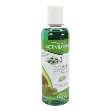 Bain d'Huile Réparateur à l'Huile d'Avocat et d'Olive pour Cheveux Secs et Abîmés 200ml