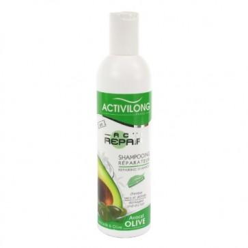 Shampooing Réparateur à l'Huile d'Avocat et d'Olive pour Cheveux Secs et Abîmés 250ml