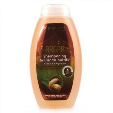 Shampooing Brillance Nutritif à l'Huile d'Argan Bio pour Cheveux Frisés et Crépus 250ml