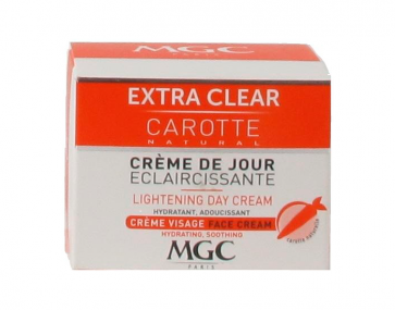 MGC Crème de Jour EXTRA CLEAR CAROTTE 50ml