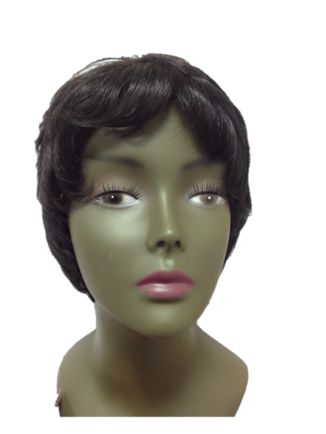 Perruque Vicky 1B Cheveux Humains