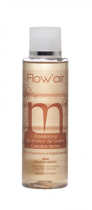 Shampooing miel révélateur de lumière Cheveux Ternes Flow'air 200mL