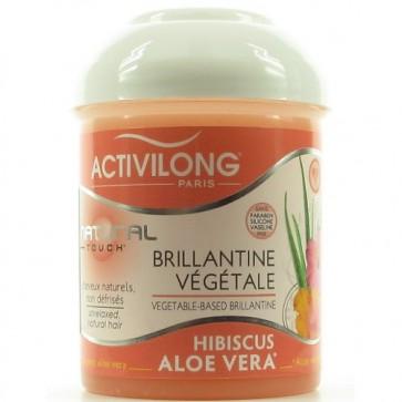 Brillantine Végétale à l'Hibiscus et à l'Aloe Vera Bio 125ml