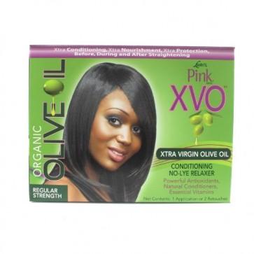 Défrisant Conditionneur Sans Soude pour Cheveux Normaux à l'Huile d'Olive Vierge Extra