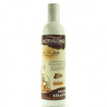 Shampooing Prolongateur de Lissage à l'huile d'Argan Bio et à la Kératine 250ml