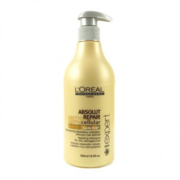 Shampooing Réparateur Cellulaire pour Cheveux très Abîmés 500ml