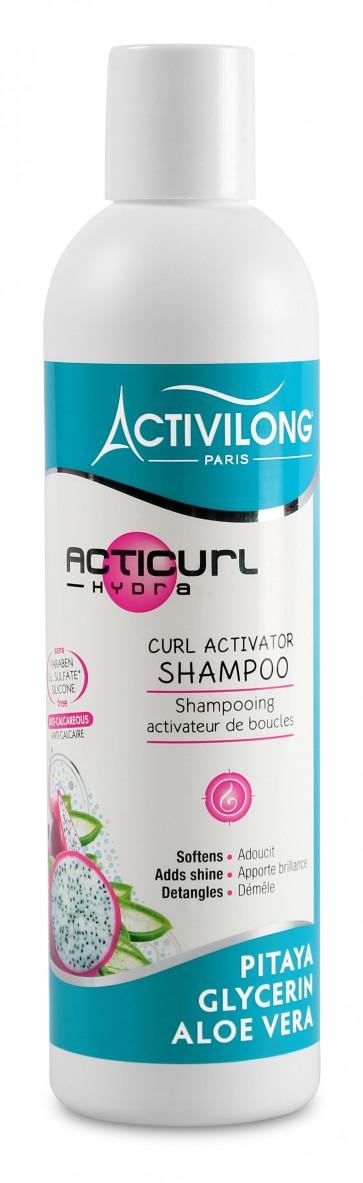 Shampooing Activateur de Boucles à l'Aloé Vera Bio et à la Glycérine Végétale 250ml