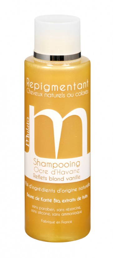 Shampooing Repigmentant Ocre Havane Reflets Blond Vanille 200ML