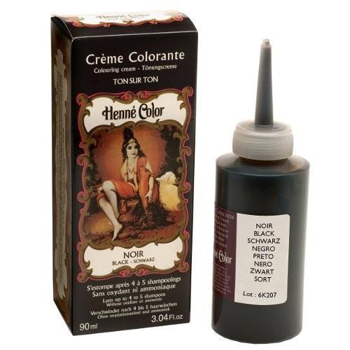 crme colorante au henn noir 90ml - Henn Coloration