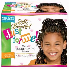 Kit Défrisant sans Soude Enfants Cheveux Epais