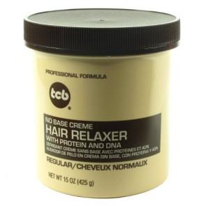 Défrisant sans Base aux Protéines et ADN Cheveux Normaux 425g