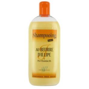Shampooing 2-en-1 au Beurre d'Illipé & Provitamine B5 500ml