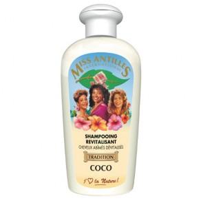 Shampooing Revitalisant Cheveux Abîmés Dévitalisés à la Coco 250ml