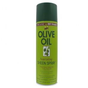 Spray Brillance Nourrissant à l'Huile d'Olive Cheveux Assoiffés et Secs 472ml