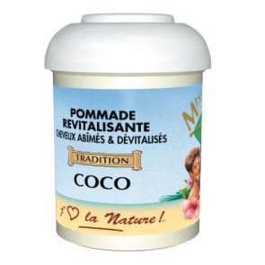 Pommade Revitalisante Cheveux Abîmés & Dévitalisés à la Coco 125ml