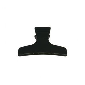 Pinces Sépare-Mèches Noires 80mm x12