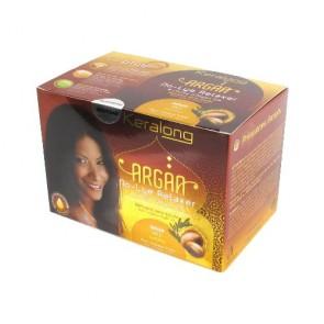 Kit Défrisant Doux sans Soude à l'Huile d'Argan Bio Normal pour Cheveux Frisés