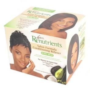 Kit Défrisant et Hydratant sans Soude pour Cheveux Normaux et Epais
