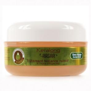 Traitement Brillance Nutritif à l'Huile d'Argan Bio pour Cheveux Frisés et Crépus 100ml