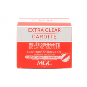 MGC Gelée Gommante EXTRA CLEAR CAROTTE  50ml