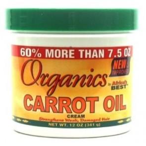 Crème à l'huile de carotte