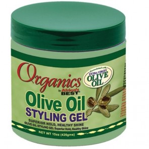 Organic Olive Oil Gel coiffant 15 oz