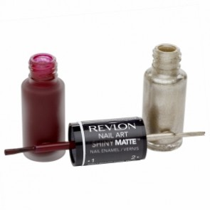 Revlon Nail Art Shiny Matte - Tortoiseshell