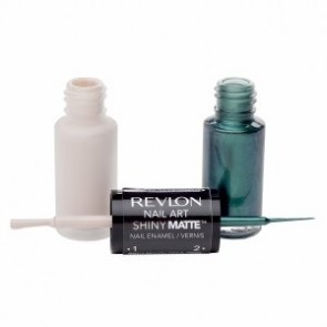 Revlon Nail Art Shiny Matte - Emerald Suede