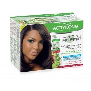 Défrisant sans soude Olive & Avocat Bio - Normal - Cheveux épais et résistants
