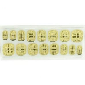 Décors Adhésifs pour Ongles en Gel 3D Noir et Doré x16
