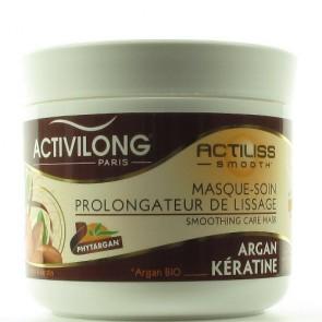 Masque-Soin Prolongateur de Lissage à l'huile d'Argan Bio et à la Kératine 200ml