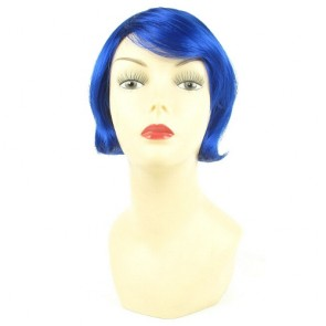Perruque Coco Bleu
