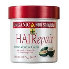 Crème aux huiles d'avocat et de noix de coco pour les cheveux secs et abîmés 142g