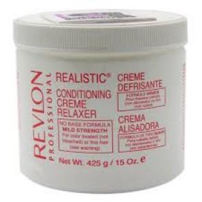 Crème Défrisante pour les Cheveux Colorés ou Fins Douce 425 G