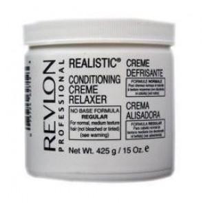 Crème défrisante pour cheveux normaux et naturels